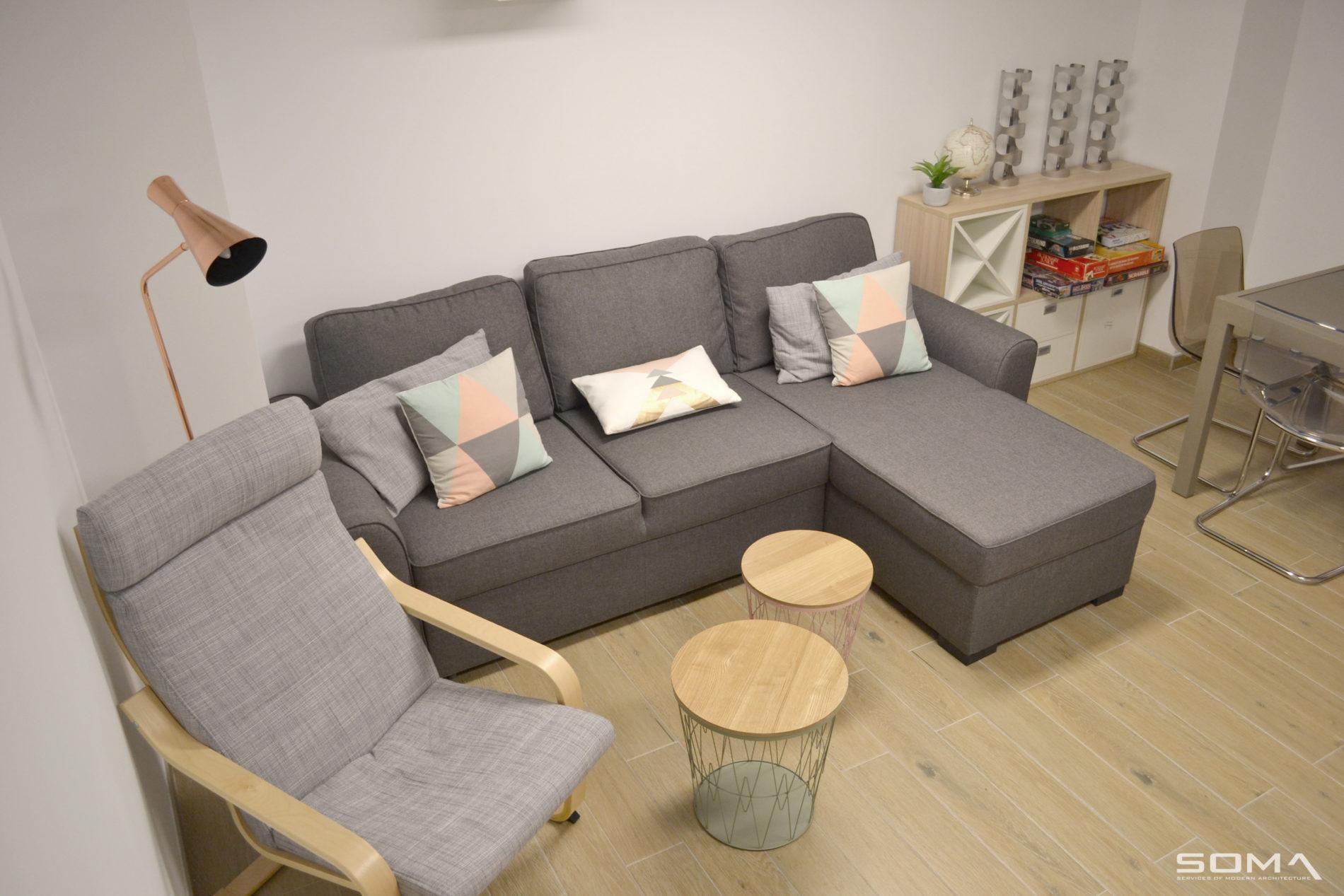 Reforma integral e interiorismo de vivienda Adosada en El Rosario, Marbella